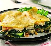 Lazania ze szpinakiem, cukinią i kurczakiem: obiad po włosku