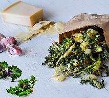 Pieczone Kalerosse z czosnkiem i parmezanem - przepis na pyszny podwieczorek