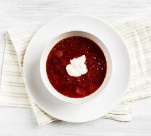 Szybki barszcz z fasolą - przepis na zupę dla zapracowanych