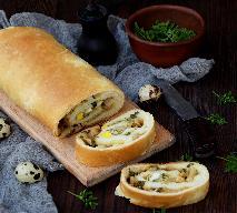 Tradycyjny kulebiak do barszczu białego lub żuru [Wielkanoc prawosławna]
