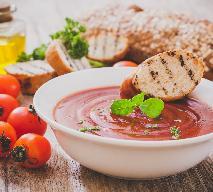 Zupa krem z pomidorów z fetą: idealna na lunch