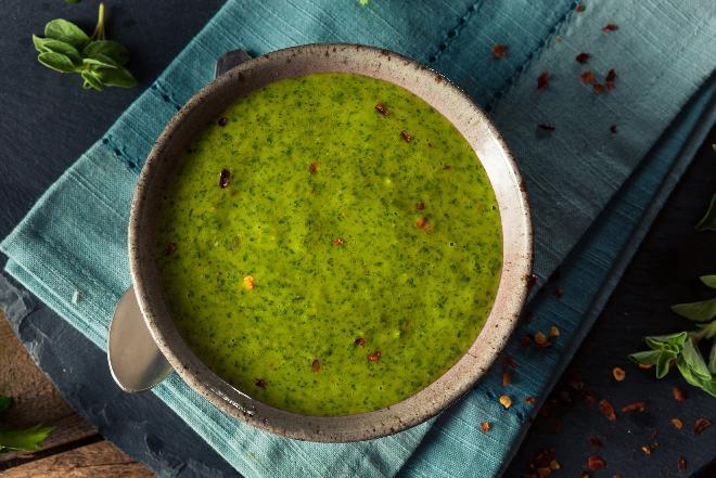 Salsa verde, czyli zielony ziołowy sos - przepis na zieloną salsę
