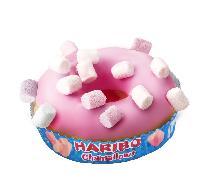 Nowość w sieci ŻABKA: różowy donut z piankami HARIBO Chamallows