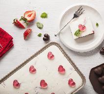 Walentynkowy sernik - przepis na pyszne ciasto