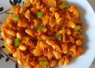 Chakalaka, czyli afrykańska sałatka z fasoli i warzyw - pożywna i pyszna
