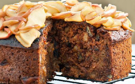 Szybki keks z jabłkami: przepis na prosty keks