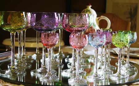 Jak czyścić kryształowe kieliszki i wazony?